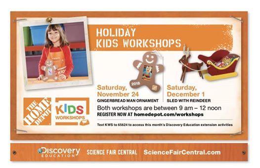 Image result for home depot kids workshop sleigh reindeer