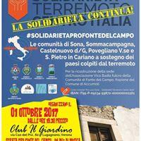 2 serata di solidariet pro Fronte del Campo