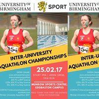 Inter-University Aquathlon 2017
