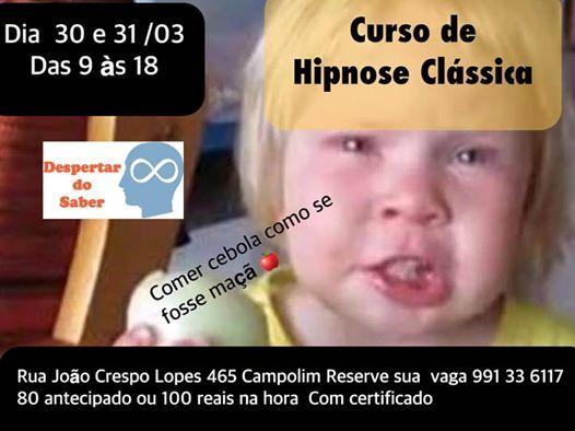 Curso de Hipnose Clssica com certificado terapeutico