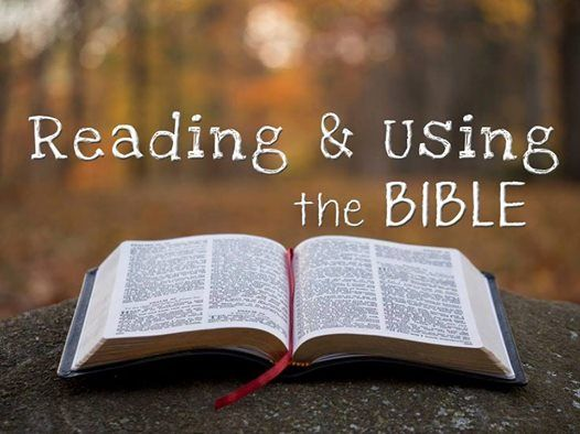 PFS - Reading & Using the Bible