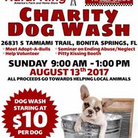Suds Up Your Dog Wash Event w The Pitbull Crew
