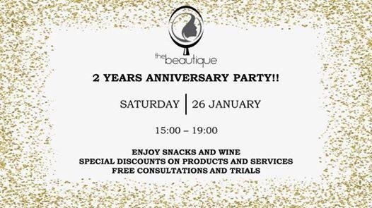2 Years Anniversary Party