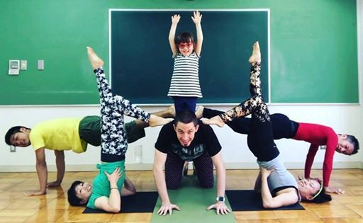Acroyoga Lesson & Jam in Kyoto