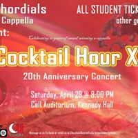 The Chordials Present Cocktail Hour