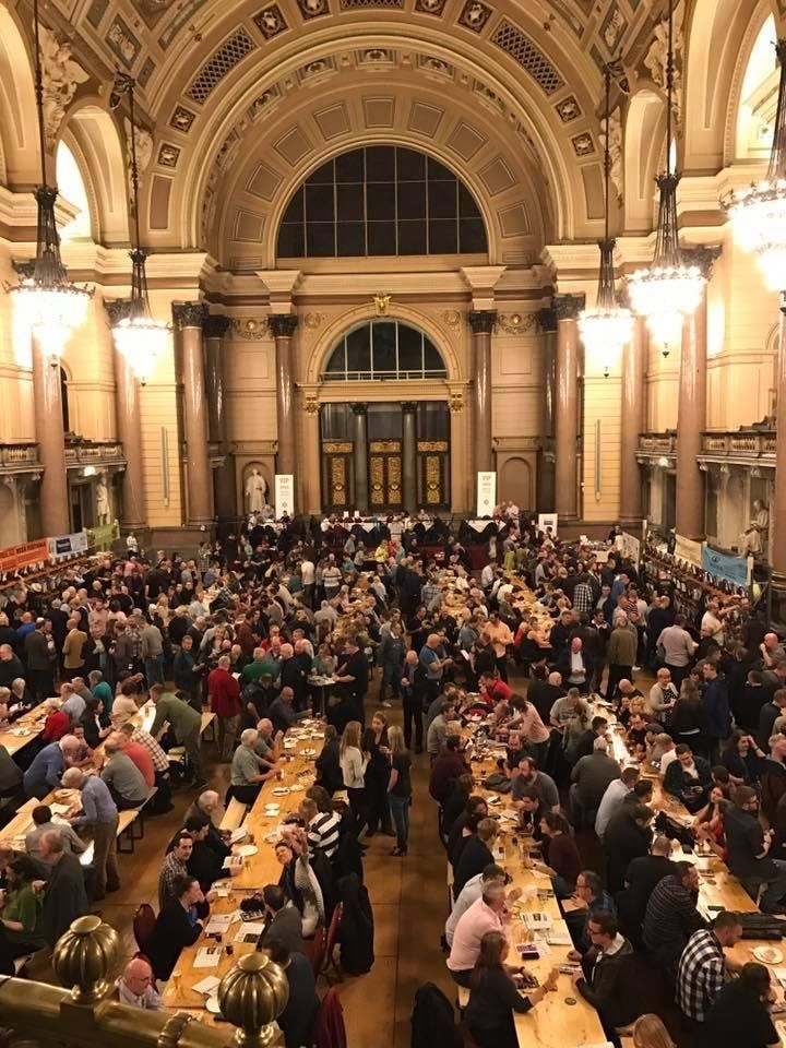 St Georges Hall Winter Ales Festival 2019