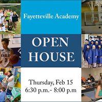 Fayetteville Academy Open House