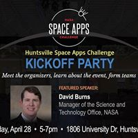 KICKOFF PARTY for NASA Space Apps Challenge Huntsville