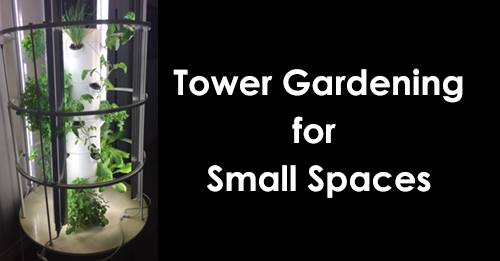 Tower Gardening for Small Spaces at Green Spaces Alliance of South ...