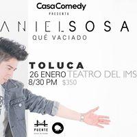 Daniel Sosa en Toluca