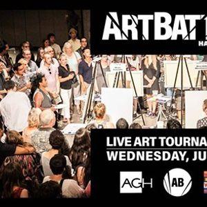 Art Battle Hamilton City Finals - June 19 2019