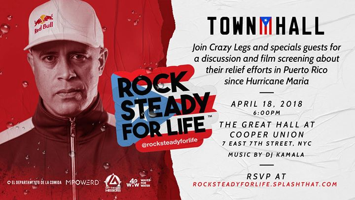 Rock Steady For Life Town Hall