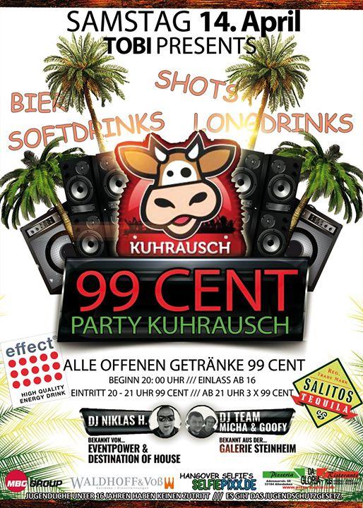 99 Cent Party Kuhrausch Vol. 2 /// by Tobias at Kuhrausch, Altenbeken