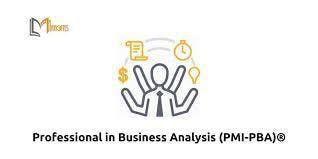 Professional in Business Analysis (PMI-PBA)Training in Cincinnati OH on Apr 23rd-26th 2019
