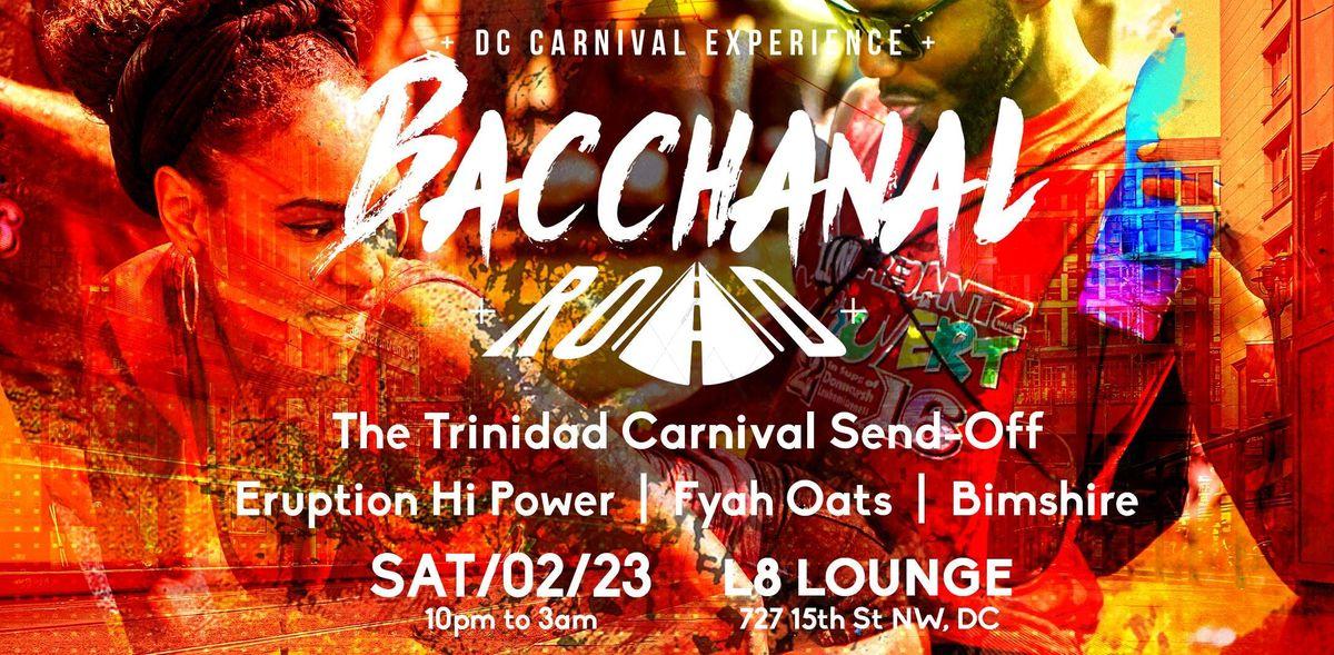 BACCHANAL ROAD  Trinidad Carnival Send-Off
