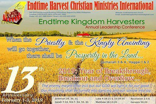 Endtime Kingdom Harvesters Annual Leadership Conference