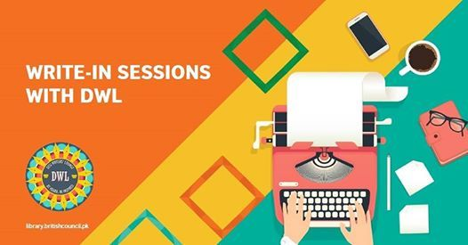 Write-in Sessions with DWL at the Library
