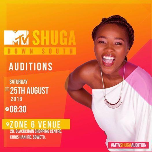 Johannesburg MTVShugaAudition