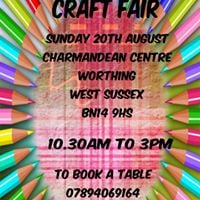 Craft Fair Charmandean Centre Worthing