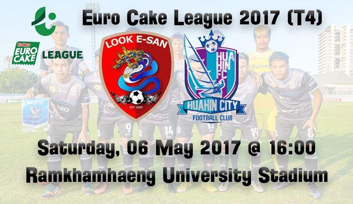 Look E-San vs Hua Hin City FC at Ramkhamhaeng University