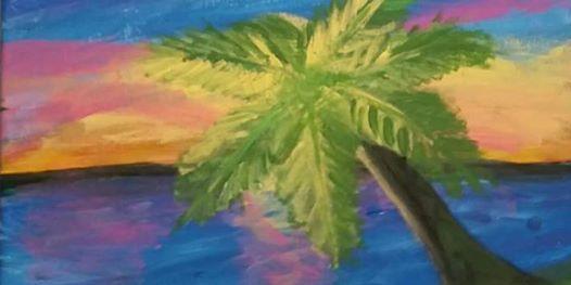 Pour & Paint Palm Tree