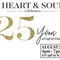 Heart &amp Soul 25 years at CapCity