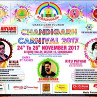 Sharry Mann Nite-Chandigarh Carnival 2017 Supported by Aryans