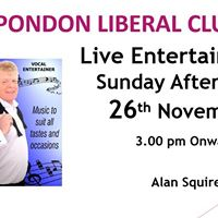 Live Entertainment with Alan Squires