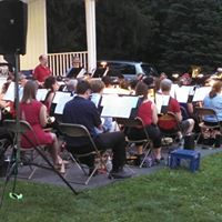 Southern Dutchess Concert Band at Schlathaus Park in Wappingers Falls