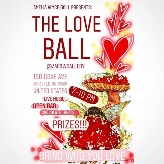 The Love Ball presented by Amelia Alyce Doll