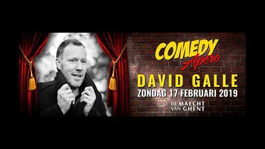Comedy Apero - David Galle