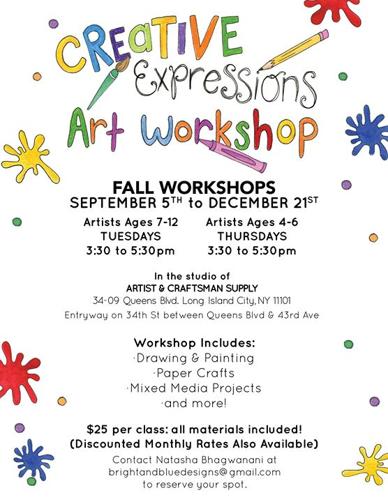 Creative Expressions Art Workshop