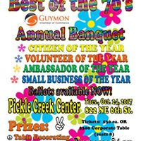 Guymon Chamber of Commerce Annual Banquet &quotBest of the 70s&quot