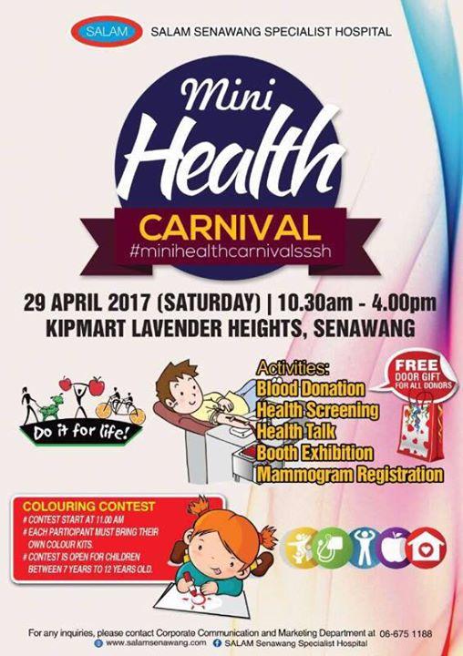2 Bedroom Suites In Savannah Ga: Mini Health Carnival At KIPmart Senawang, Seremban