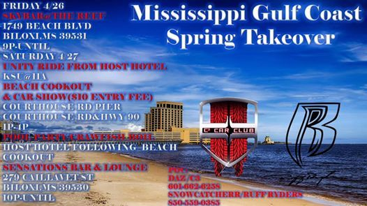 Gulf Coast Spring Takeover: A C3/Ruff Ryders Collaboration