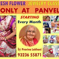 Fresh Flower Jewellery Making