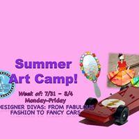 Summer Camp Week 10Designer Divas