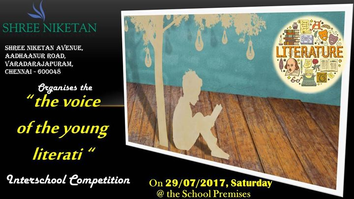 Inter School Competition - The Voice of the Young Literati