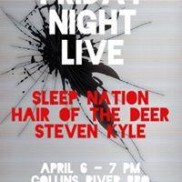 Friday Night Live Steven Kyle The Hair of the Deer SLP NTN