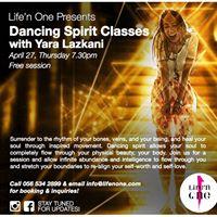 Free Dancing Spirit Class with Yara