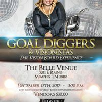 Goal Diggers &amp Visionaries Vision Board Party hosted by S.E. Williams