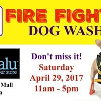 Fire Fighter Dog Wash