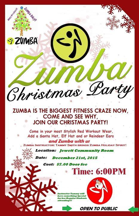 Zumba Christmas Party Images.Zumba Christmas Party Jewett At Jewett Area Chamber Of