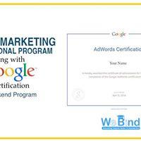 4-Day Digital Marketing along with Google Certification Program