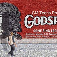 CM Teens Auditions for Godspell
