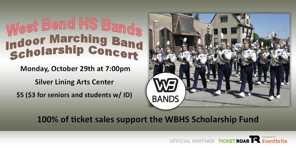 West Bend High Schools Indoor Marching Band Scholarship Concert At