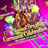 17th Annual Brazilian Carnaval celebrating &quot100 Years of Samba&quot