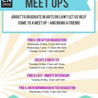 Meet up create a great CV