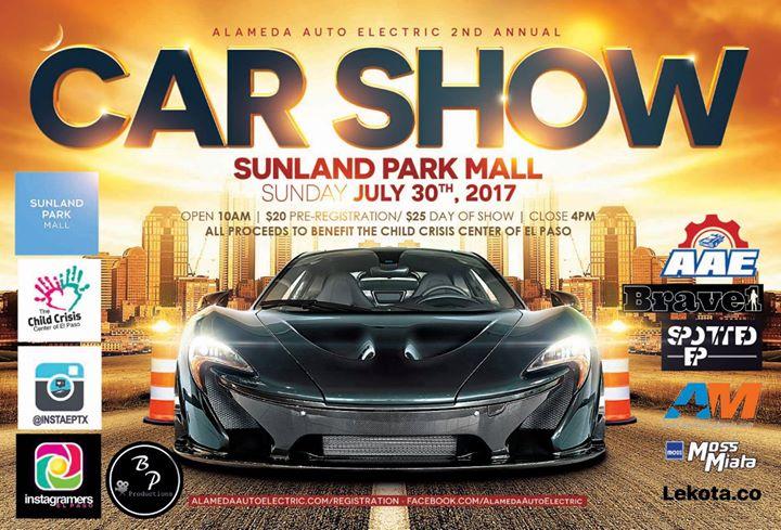 Car Show At Sunland Park Dr El Paso TX United - Car show el paso