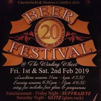 Chesterfield CAMRA Beer Festivals
